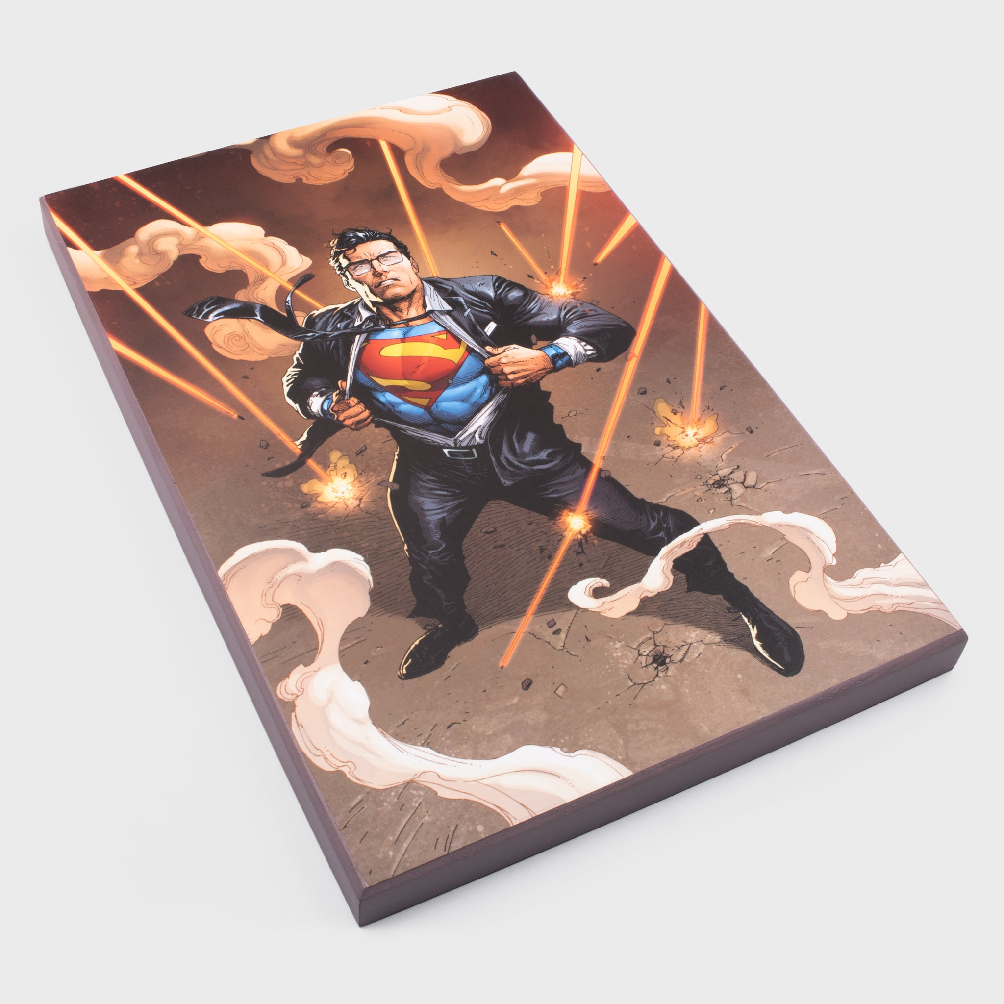 world's finest the collection collectible dc comics justice league canvas art print graphic superman