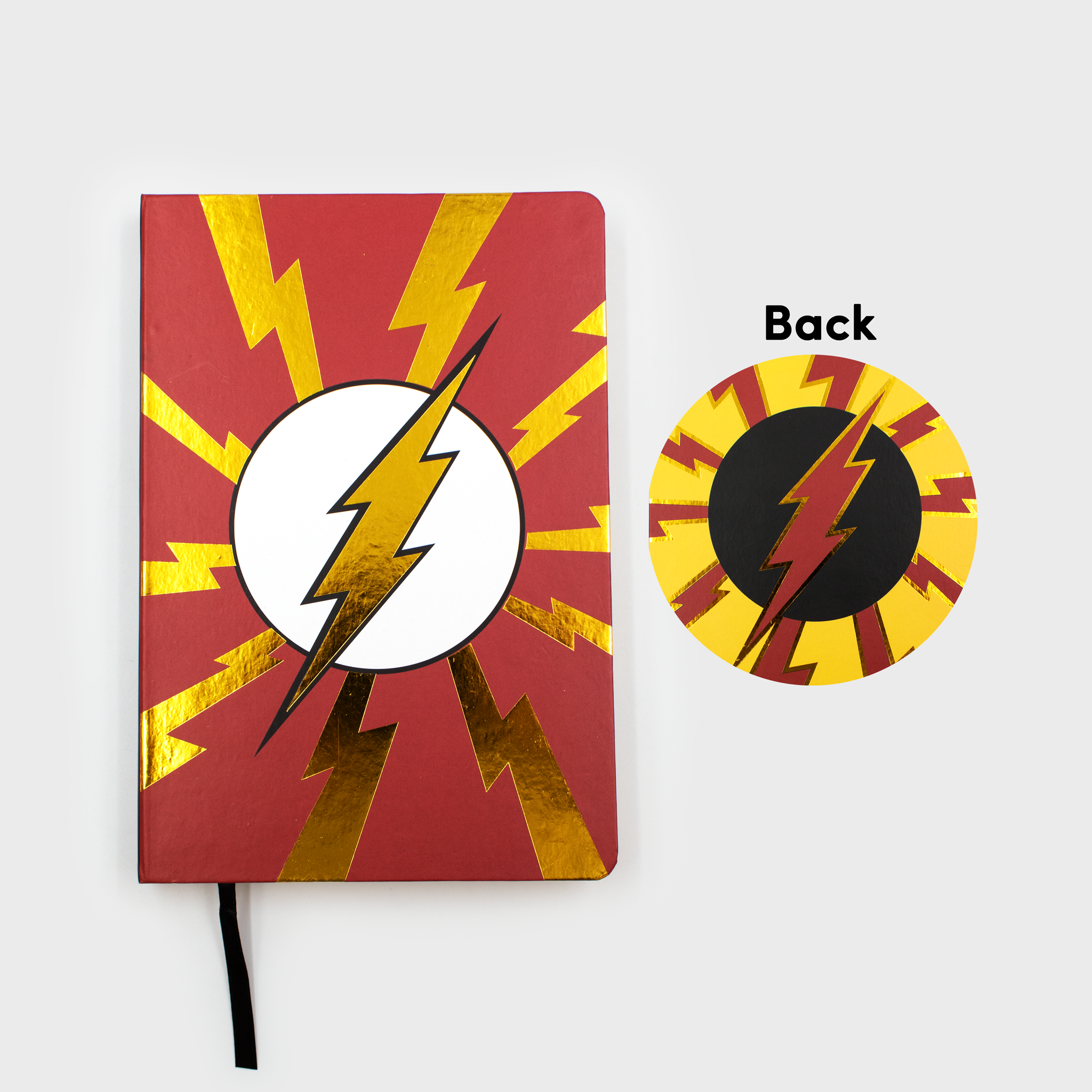world's finest the collection exclusive collectible mystery box dc comics culturefly the flash reverse flash notebook journal