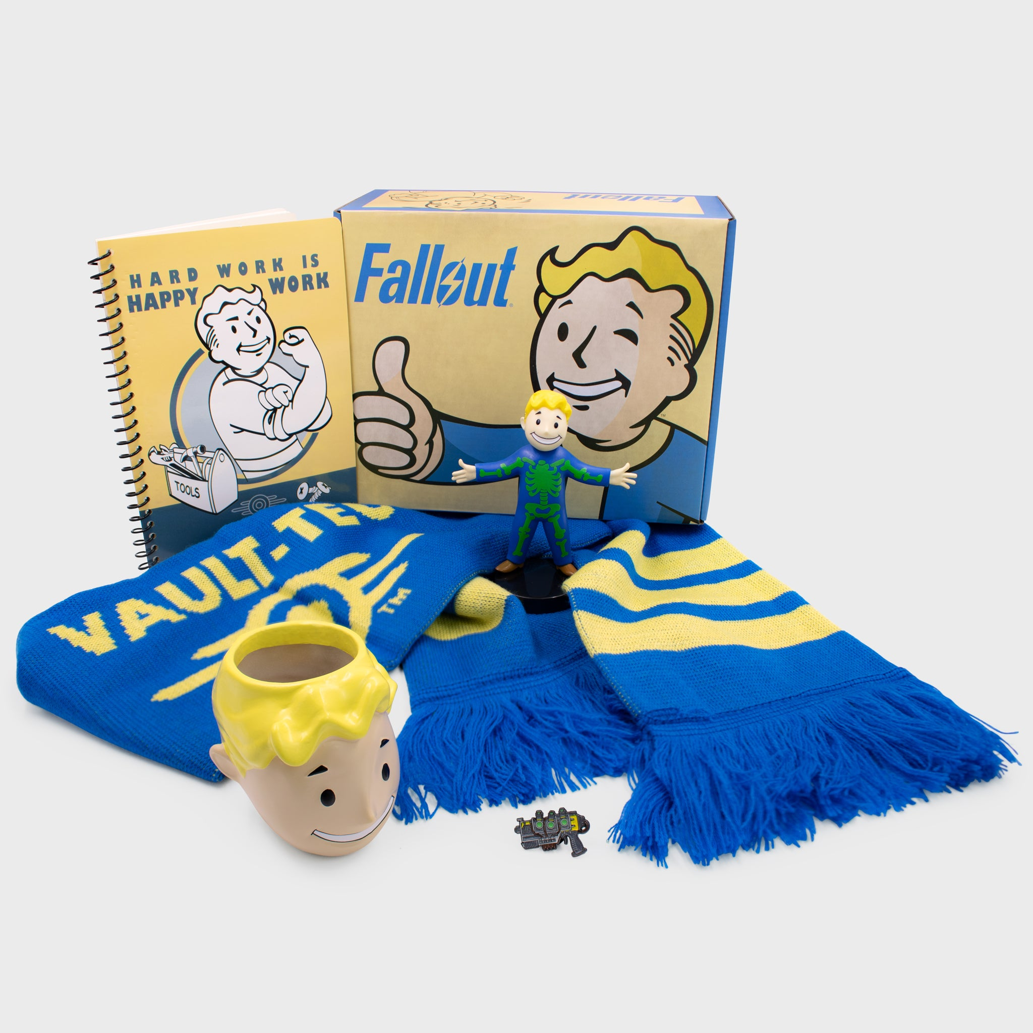 fallout collectors box exclusive gaming video games vault boy bethesda collectible culturefly