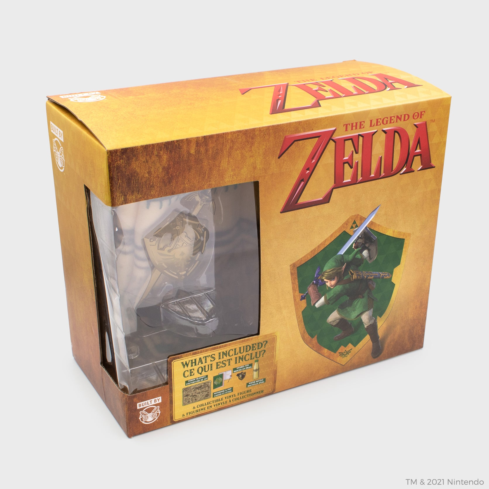 legend of zelda nintendo link loz collector's box culturefly