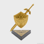 legend of zelda nintendo link loz collector's box hylian shield master sword vinyl figure collectible culturefly