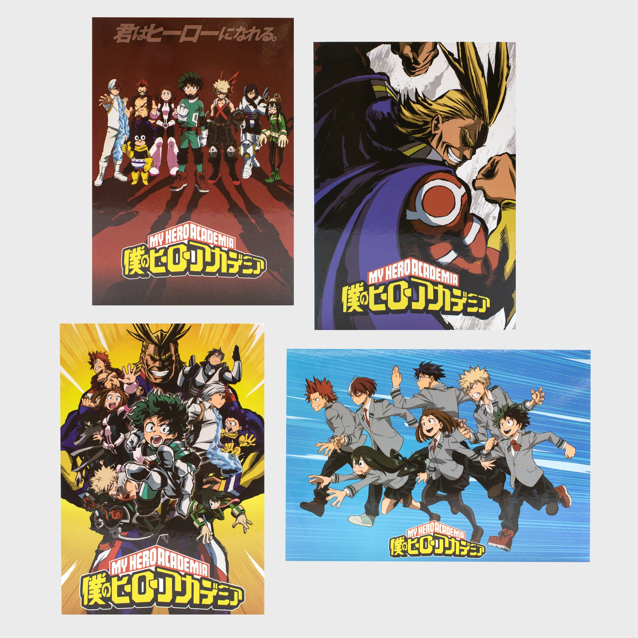 my hero academia mha deku izuku midoriya anime collector's box collectibles exclusives back to school winter all might accessories culturefly postcards art