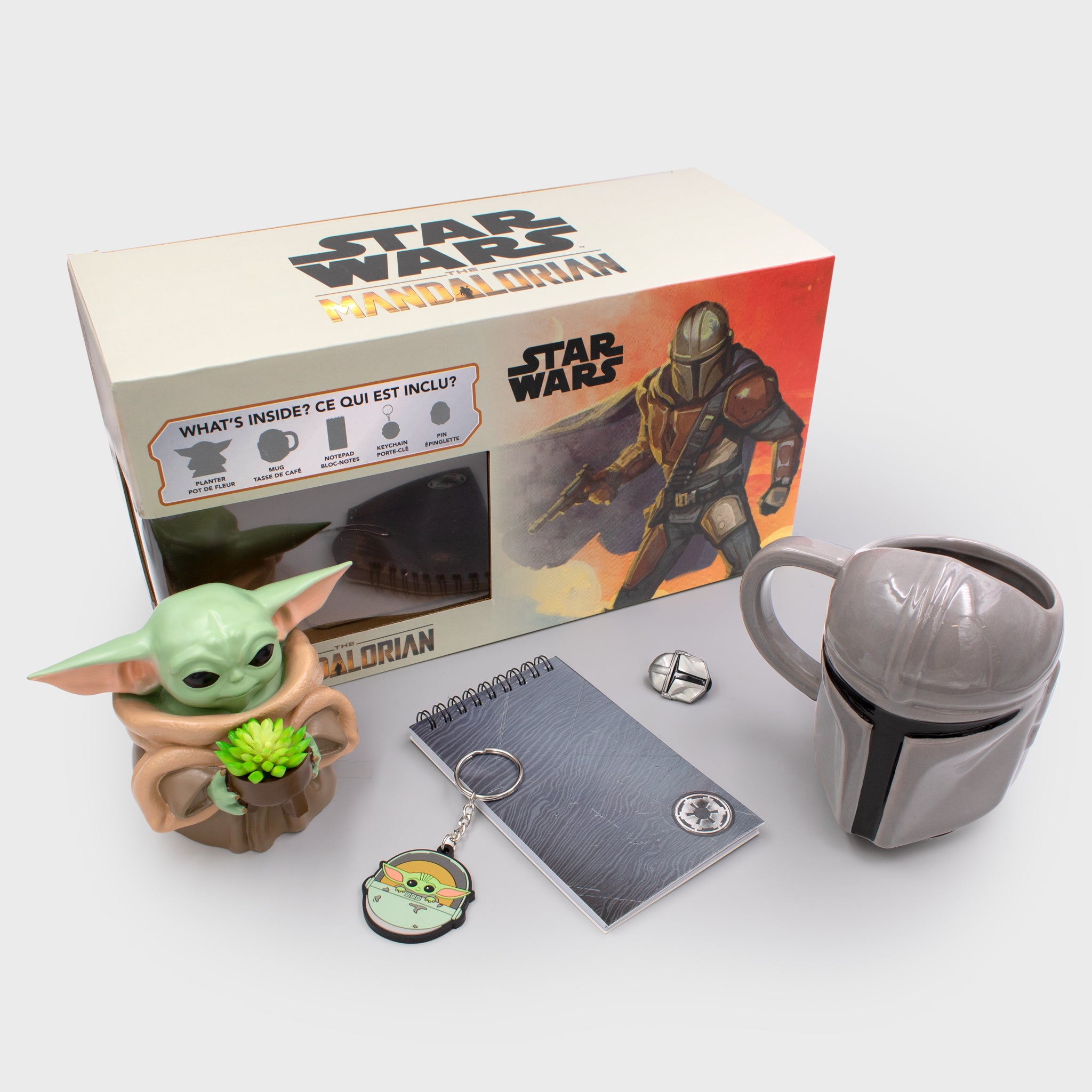 the mandalorian star wars baby yoda the child collector's box collectibles culturefly