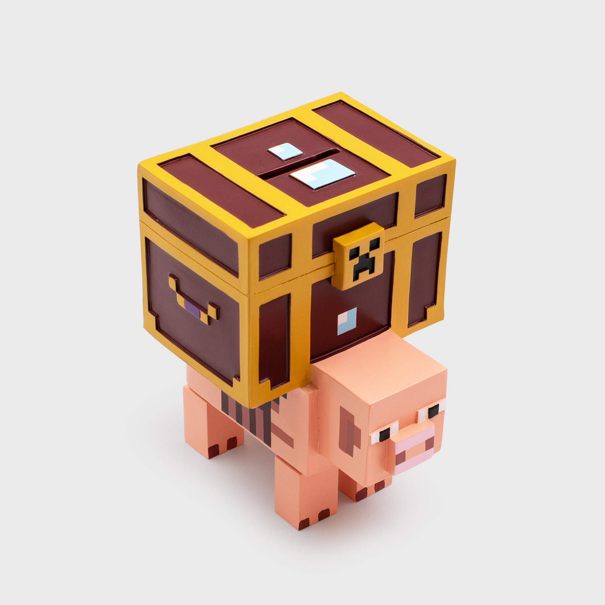 minecraft dungeons collectors box mojang piggy bank culturefly