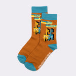 minecraft dungeons collectors box mojang socks accessories footwear apparel culturefly