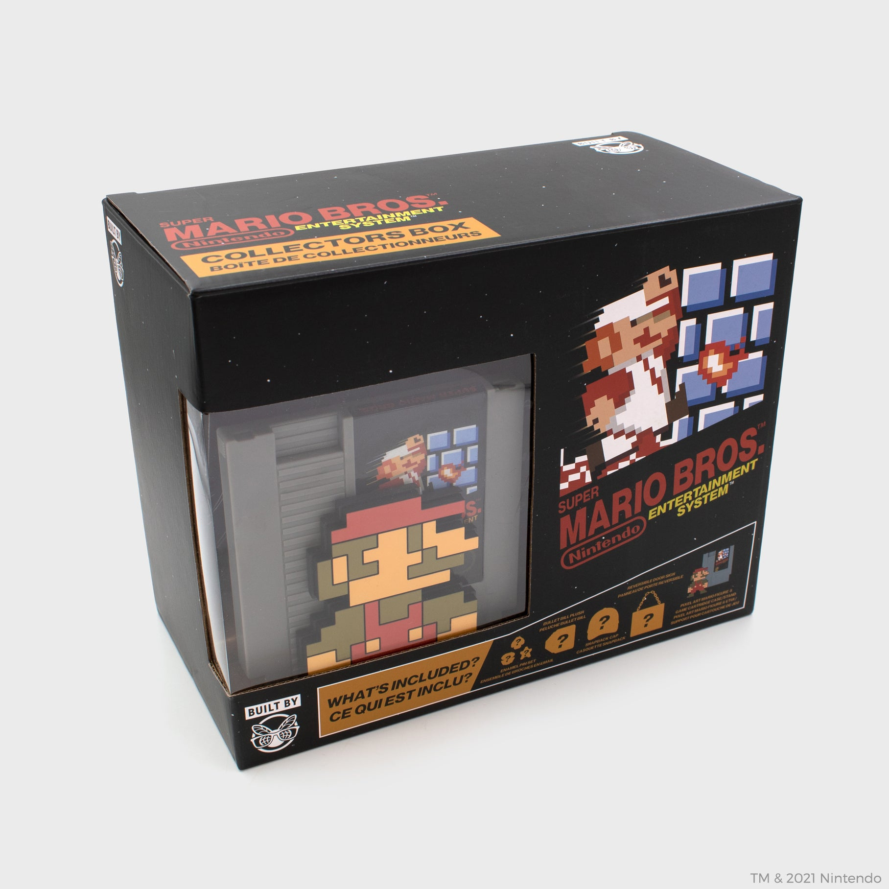nintendo super mario bros. nes nintendo entertainment system collector's box 8-bit classic retro video games gaming culturefly
