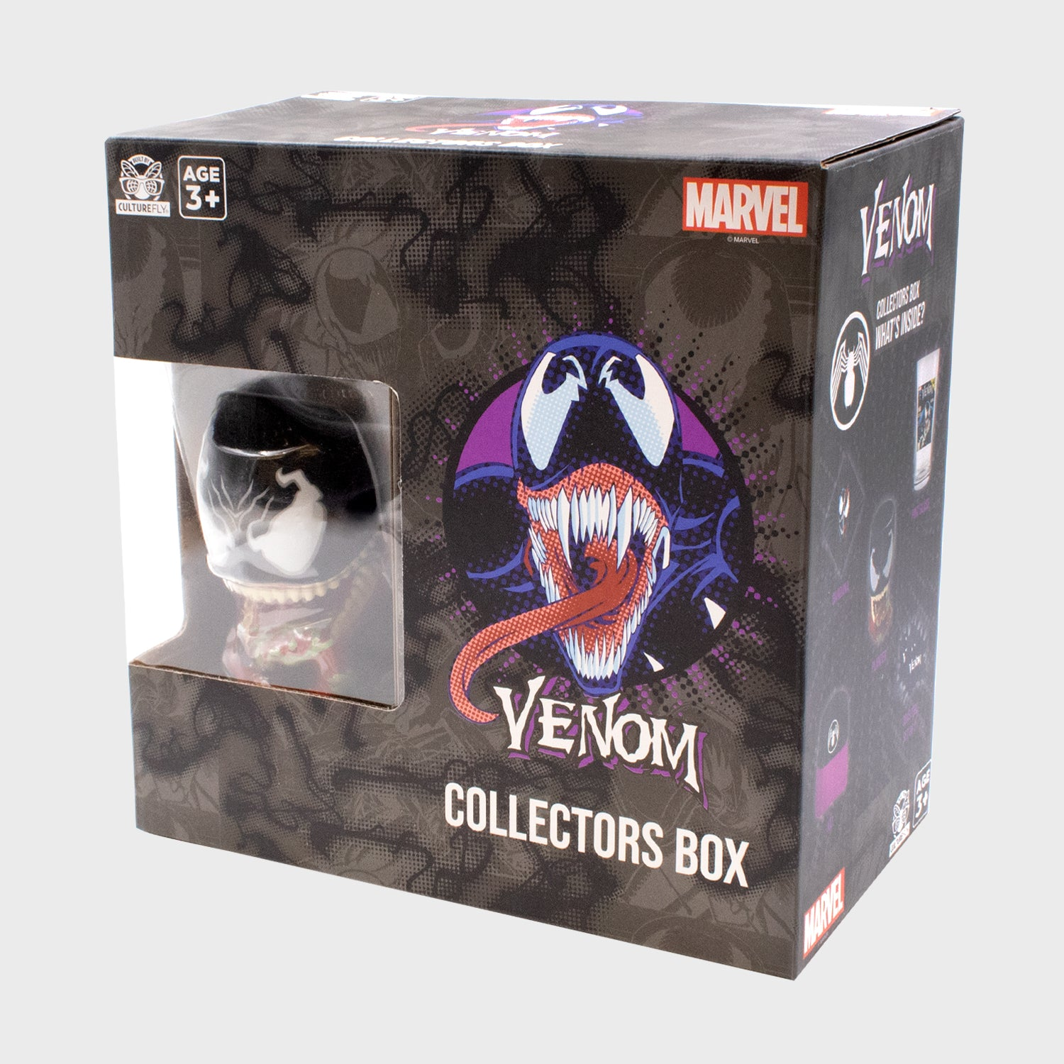 venom marvel spider-man comics collection collectibles exclusives collector's box culturefly