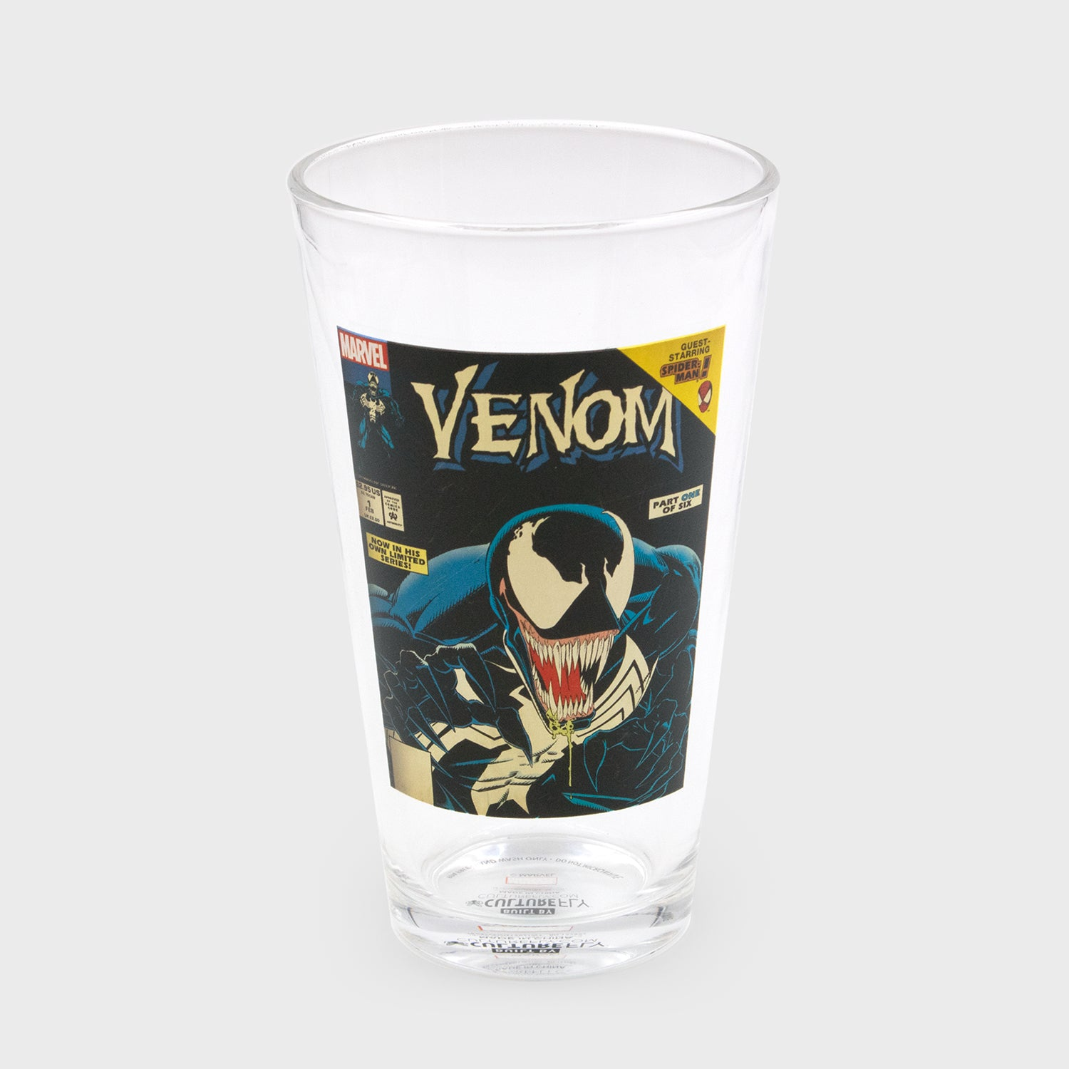 venom marvel spider-man comics collection collectibles exclusives collector's box culturefly pint glass drinkware kitchenware