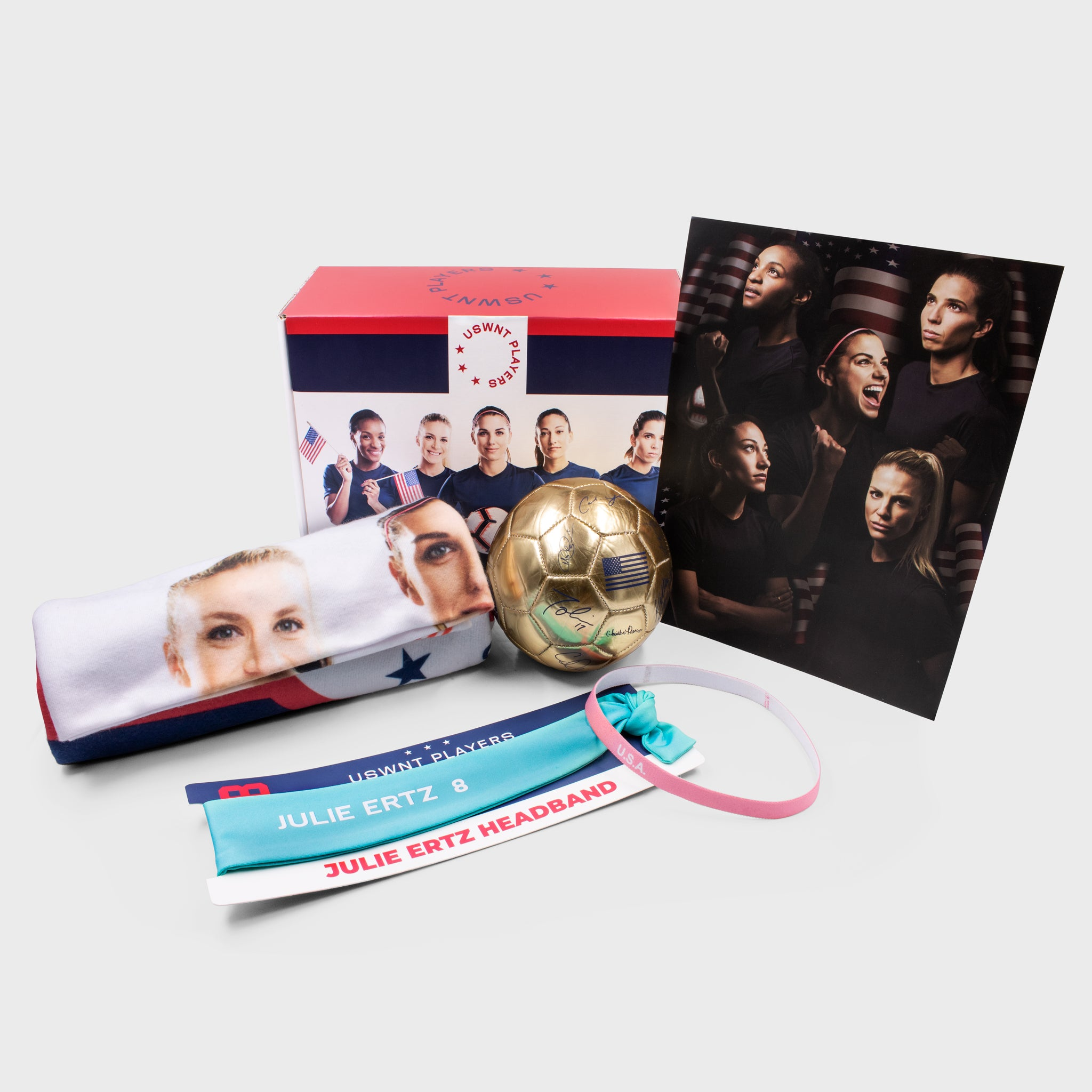 uswnt us usa united states women's national team soccer champion collectible exclusive box culturefly