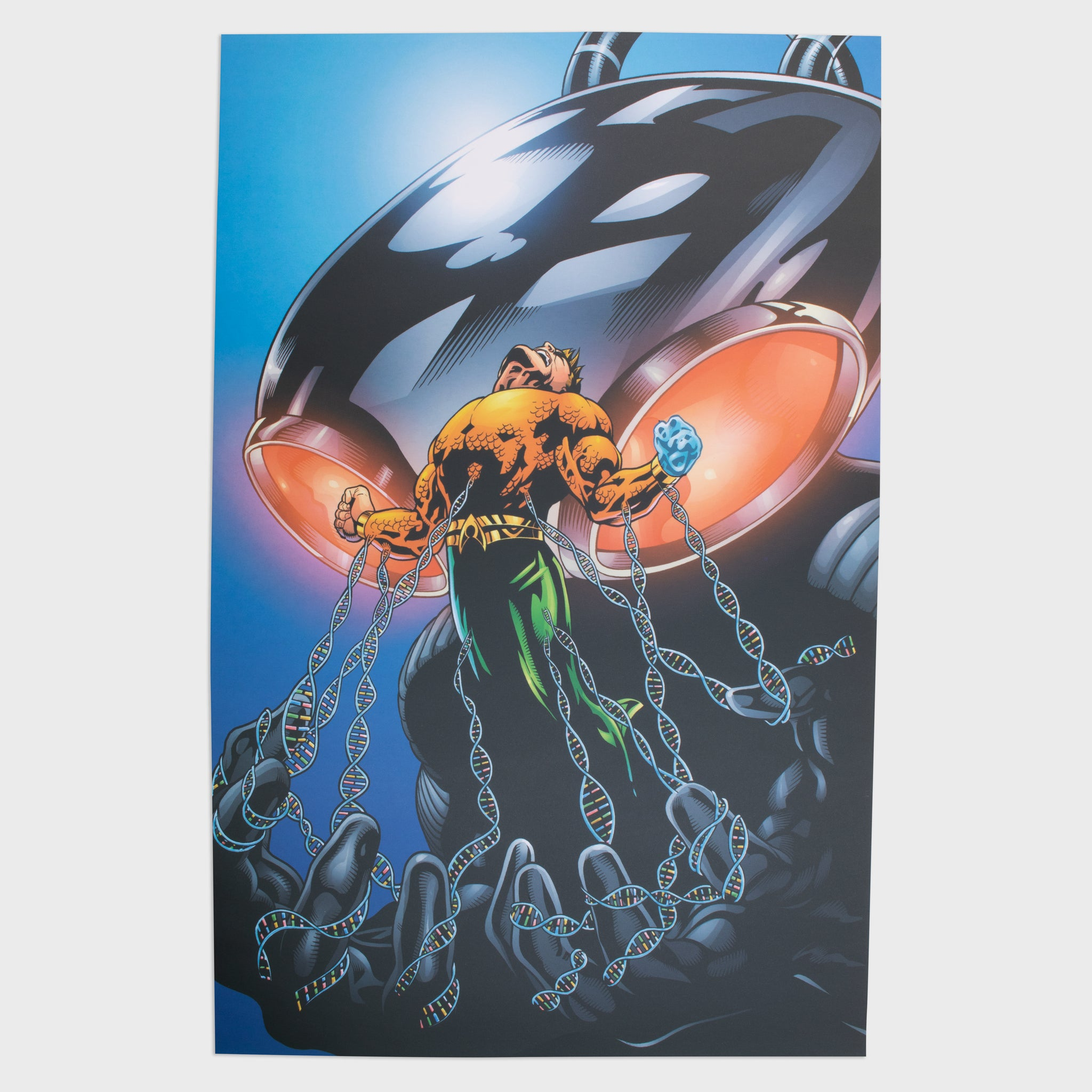 world's finest the collection collectible dc comics villains print graphic art print aquaman