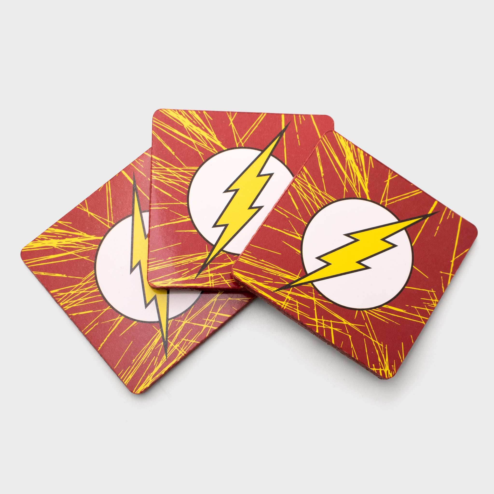 world's finest the collection collectible dc comics the flash coaster set kitchen ware