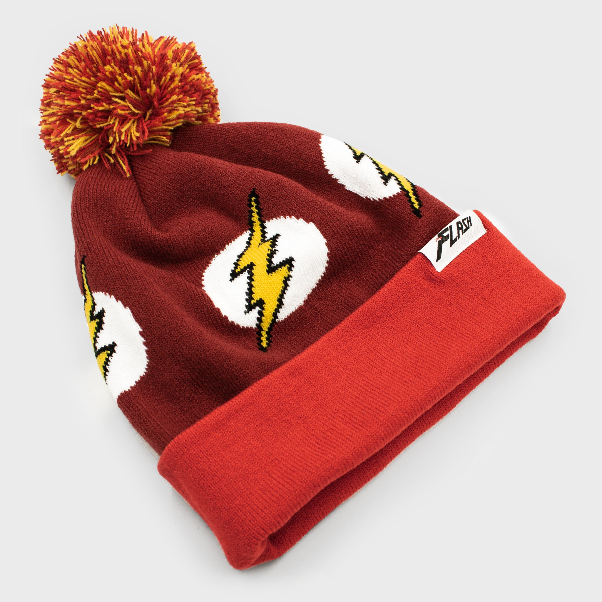 world's finest the collection collectible dc comics the flash apparel accessory beanie hat winter