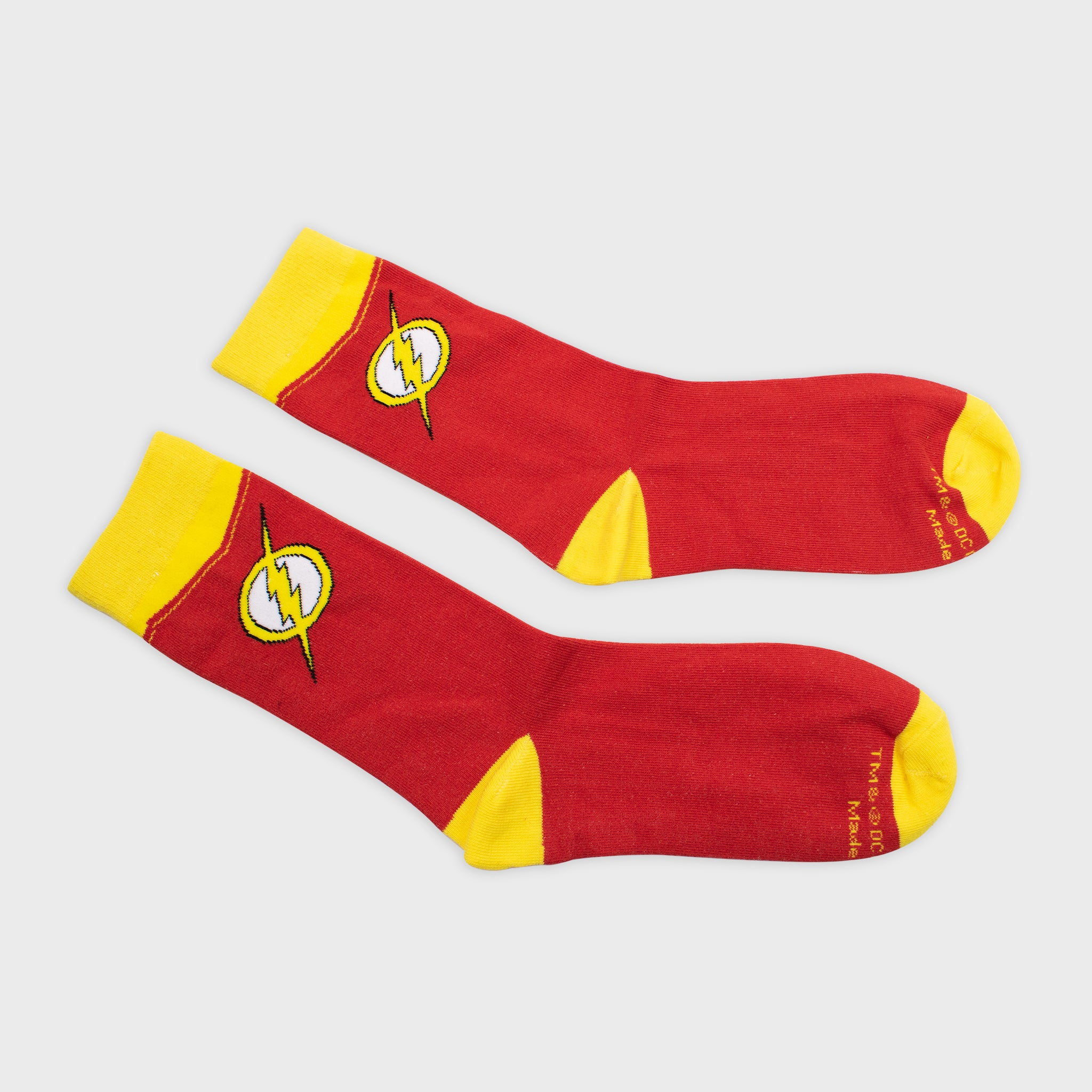 world's finest the collection collectible dc comics the flash apparel accessory socks
