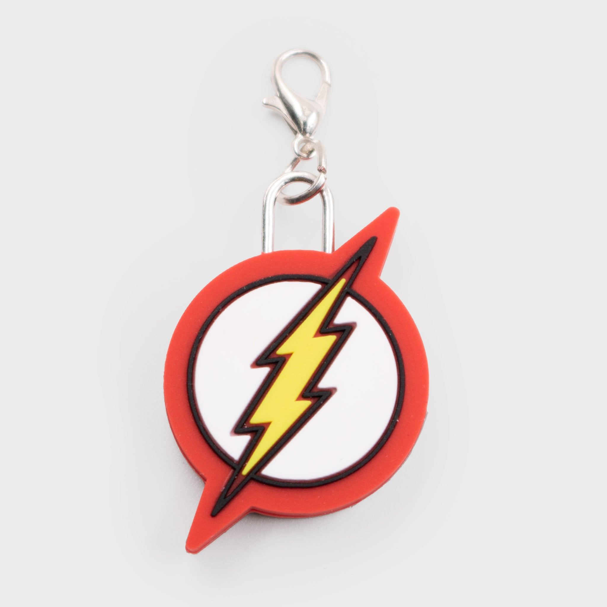 world's finest the collection collectible dc comics the flash key chain zipper charm accessory