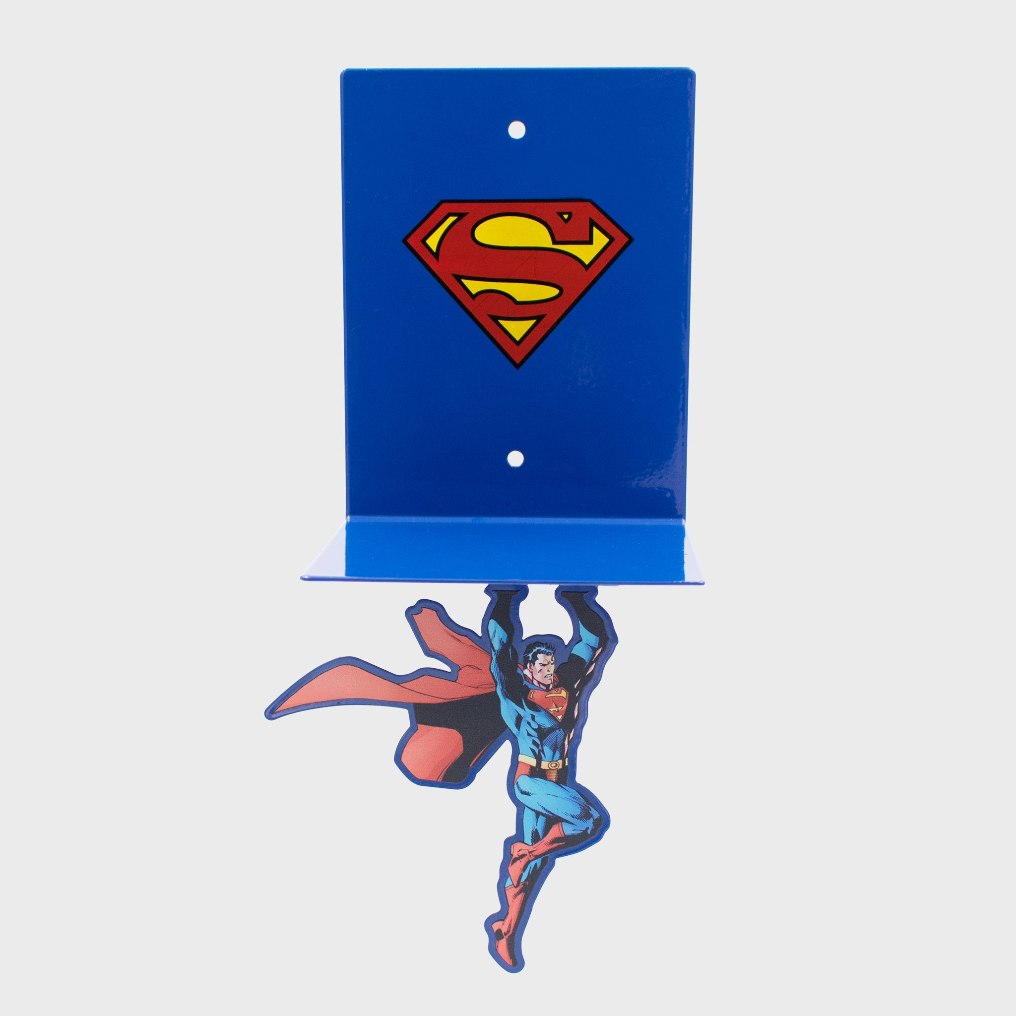 world's finest the collection subscription box exclusive collectible superman fortress of solitude culturefly dc comics superhero floating bookshelf home decor