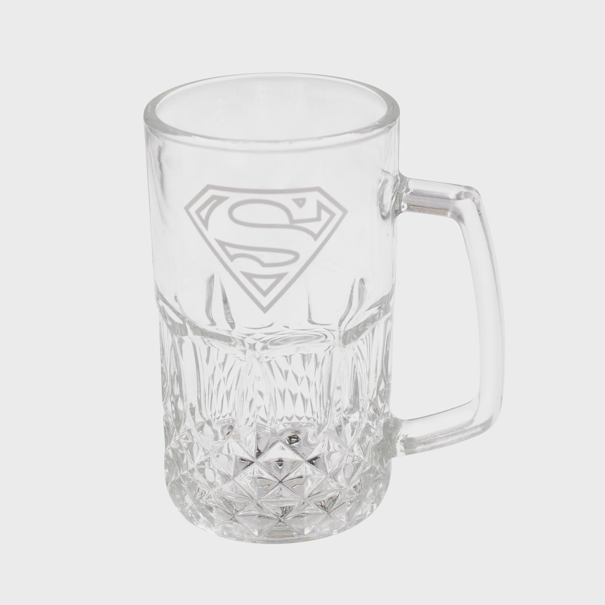 world's finest the collection subscription box exclusive collectible superman fortress of solitude culturefly dc comics superhero glass mug kitchenware drinkware
