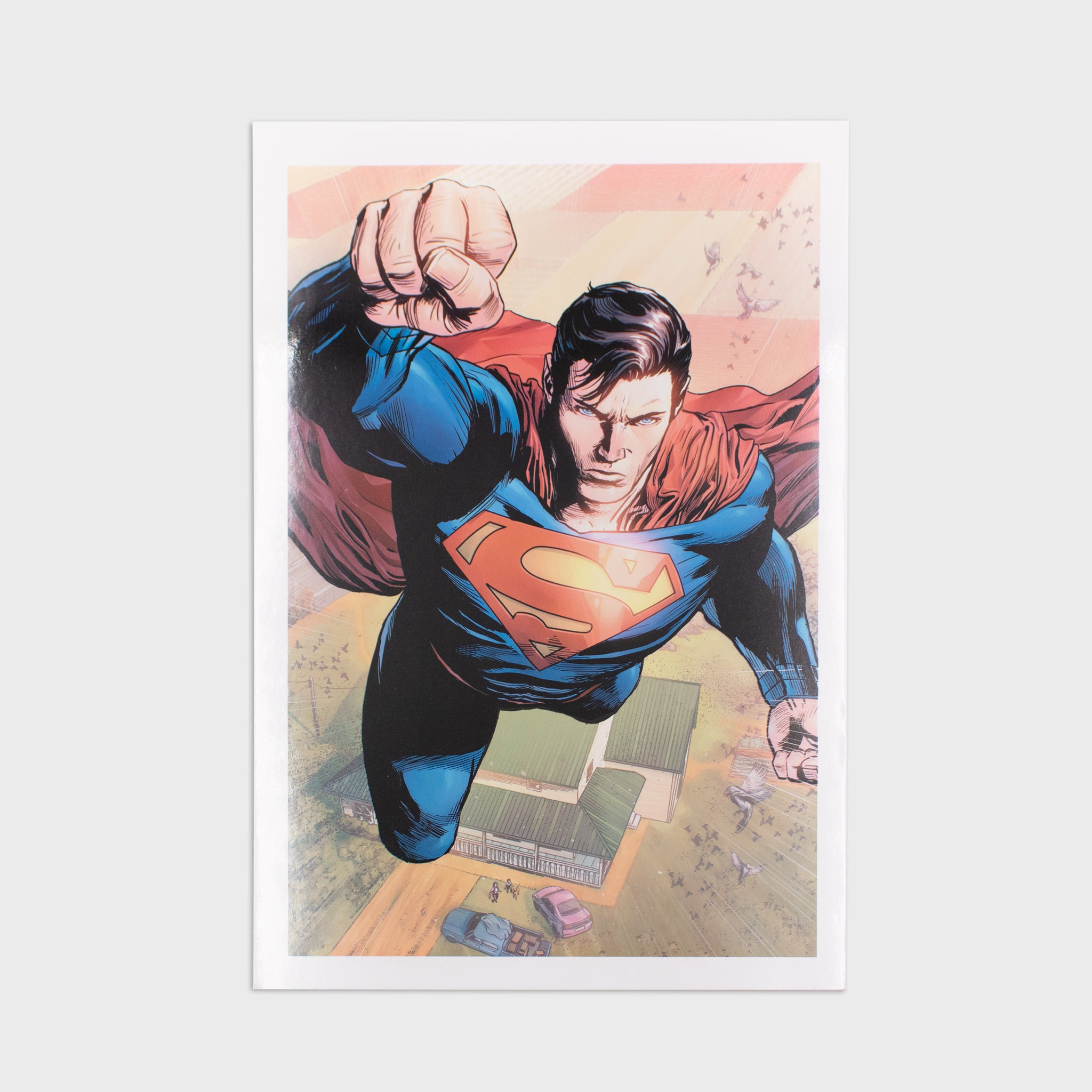 world's finest the collection subscription box exclusive collectible superman fortress of solitude culturefly dc comics superhero art print