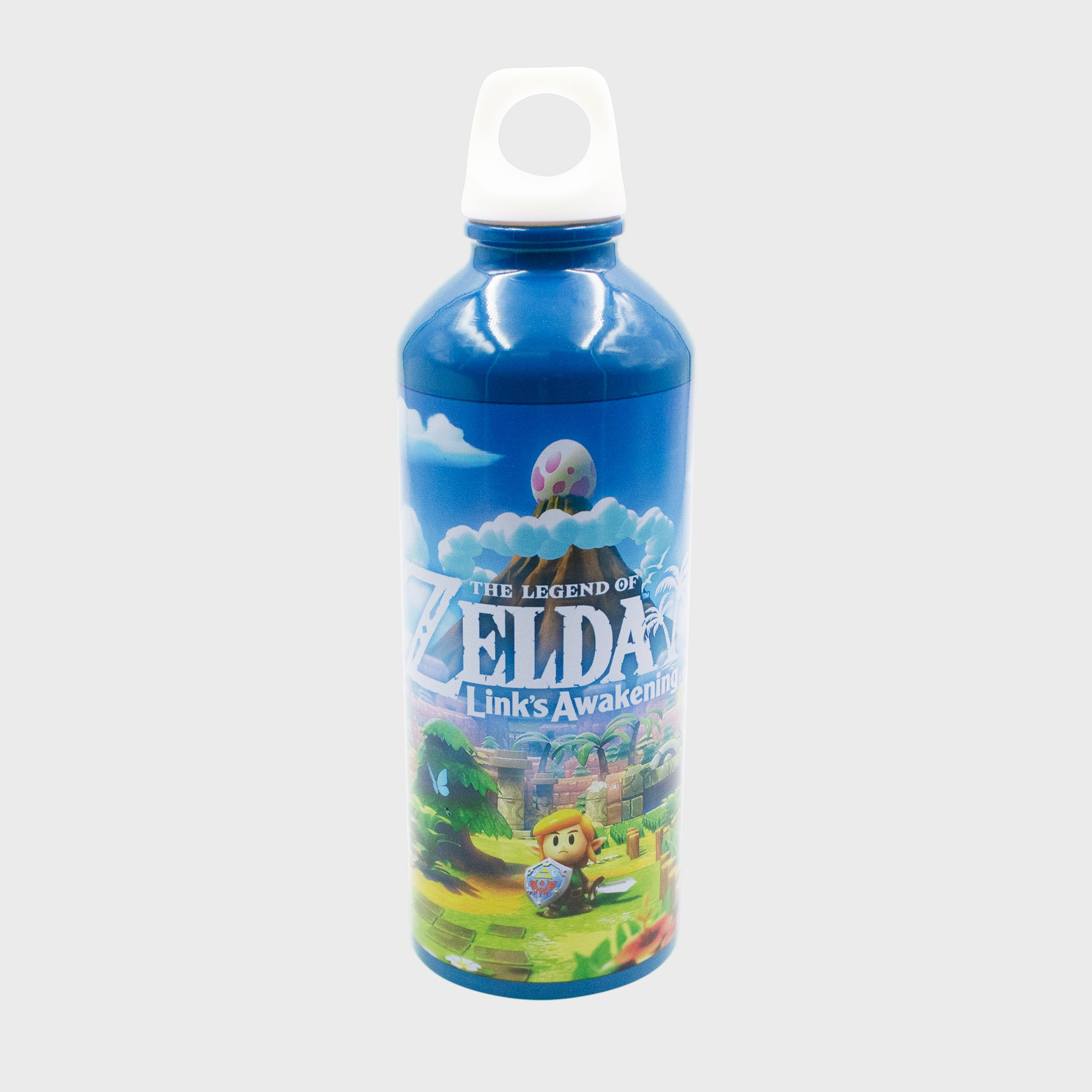 the legend of zelda link's awakening 2019 nintendo loz collector's box exclusive collectible drinkware sport water bottle accessory culturefly