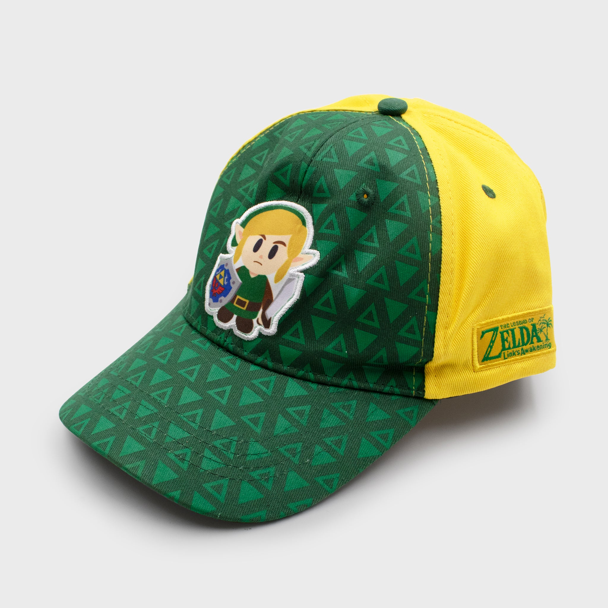 the legend of zelda link's awakening 2019 nintendo loz collector's box exclusive collectible fitted cap dad cap hat headwear culturefly