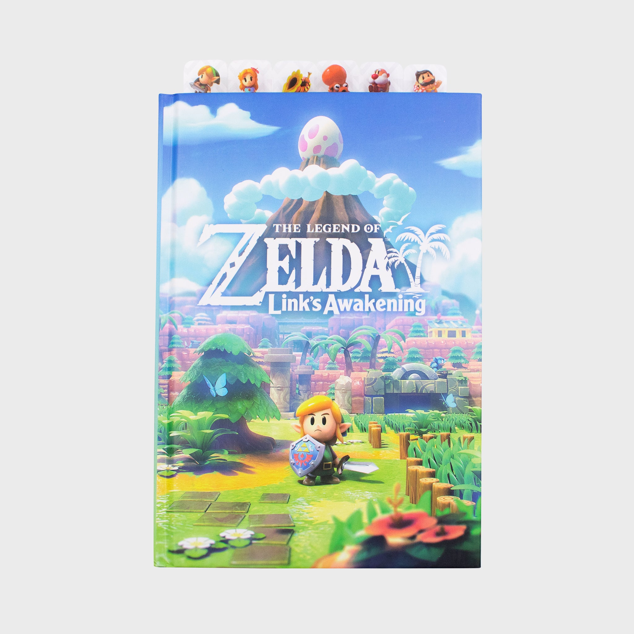 the legend of zelda link's awakening 2019 nintendo loz collector's box exclusive collectible journal notebook bookmarks culturefly