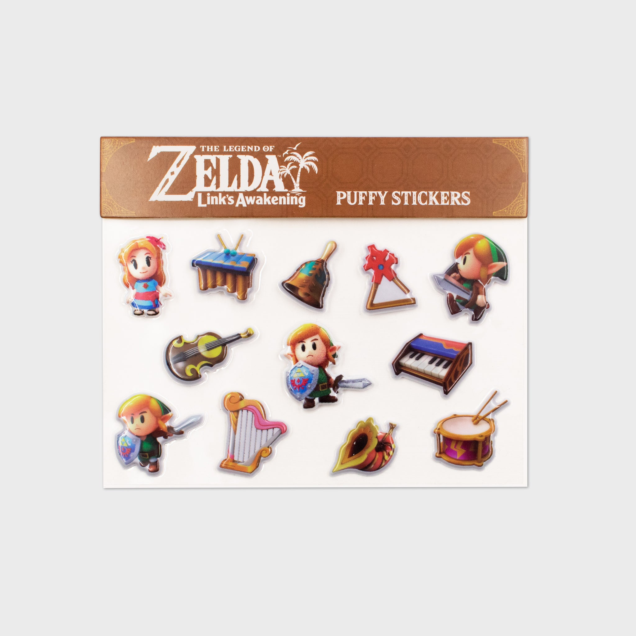 the legend of zelda link's awakening 2019 nintendo loz collector's box exclusive collectible puffy stickers culturefly