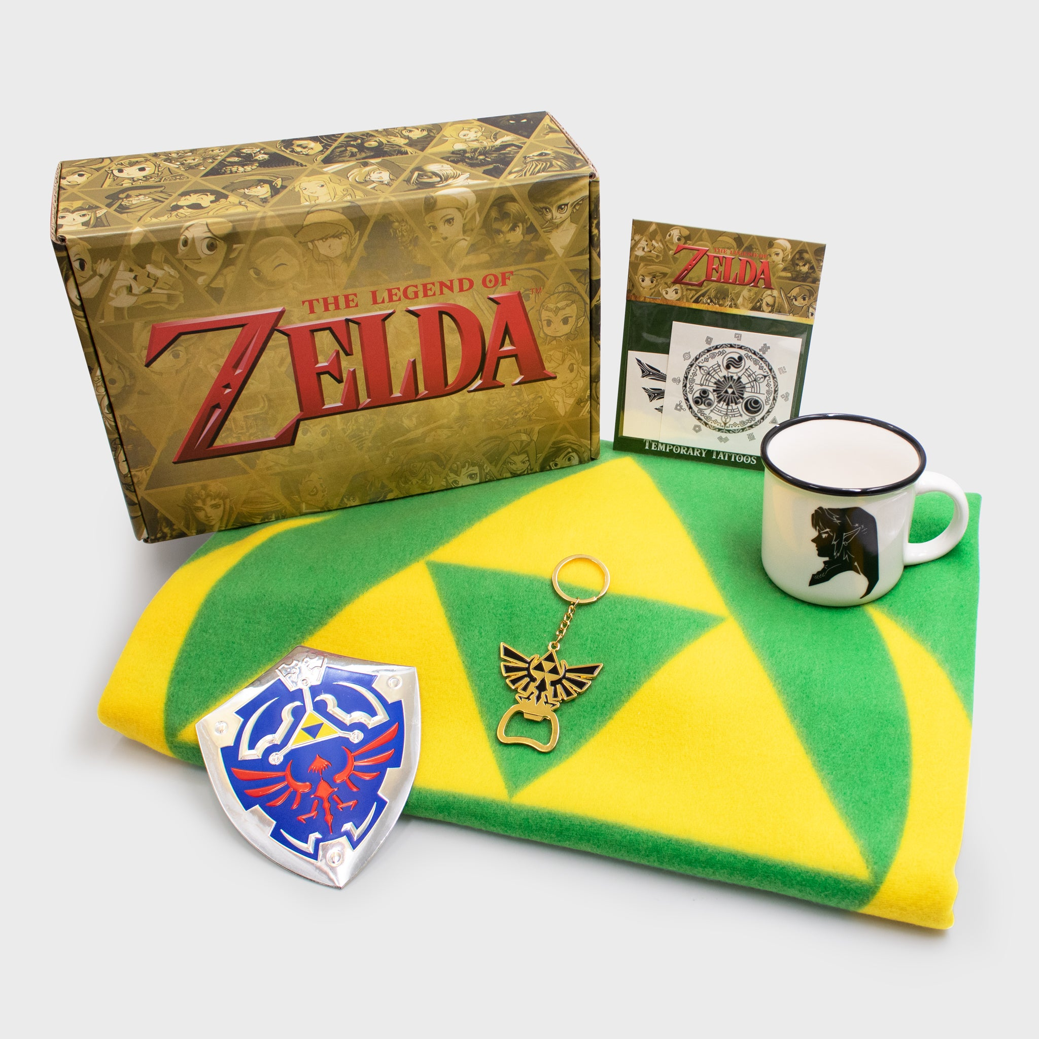 the legend of zelda loz nintendo video games hyrule link royal family evergreen collectors box accessories collectibles culturefly
