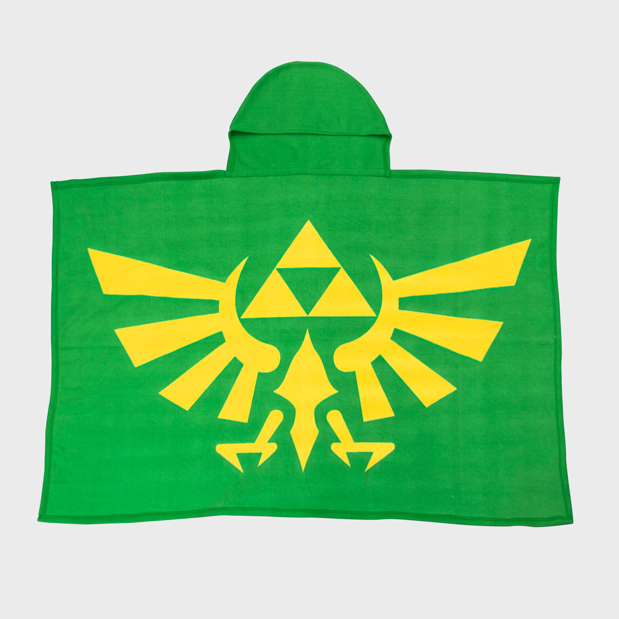 the legend of zelda loz nintendo video games hyrule link royal family evergreen collectors box accessories collectibles culturefly hooded blanket green tunic