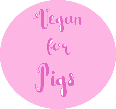 Vegan For Pigs pin