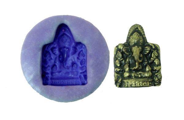 Yoga Ganapati Temple Mould - Claysphere
