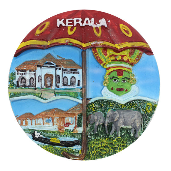 Kerala Ethnic Beauty Scenery Mould - Claysphere