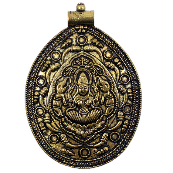 Vasudha Lakshmi Pendant Temple Mould - Claysphere