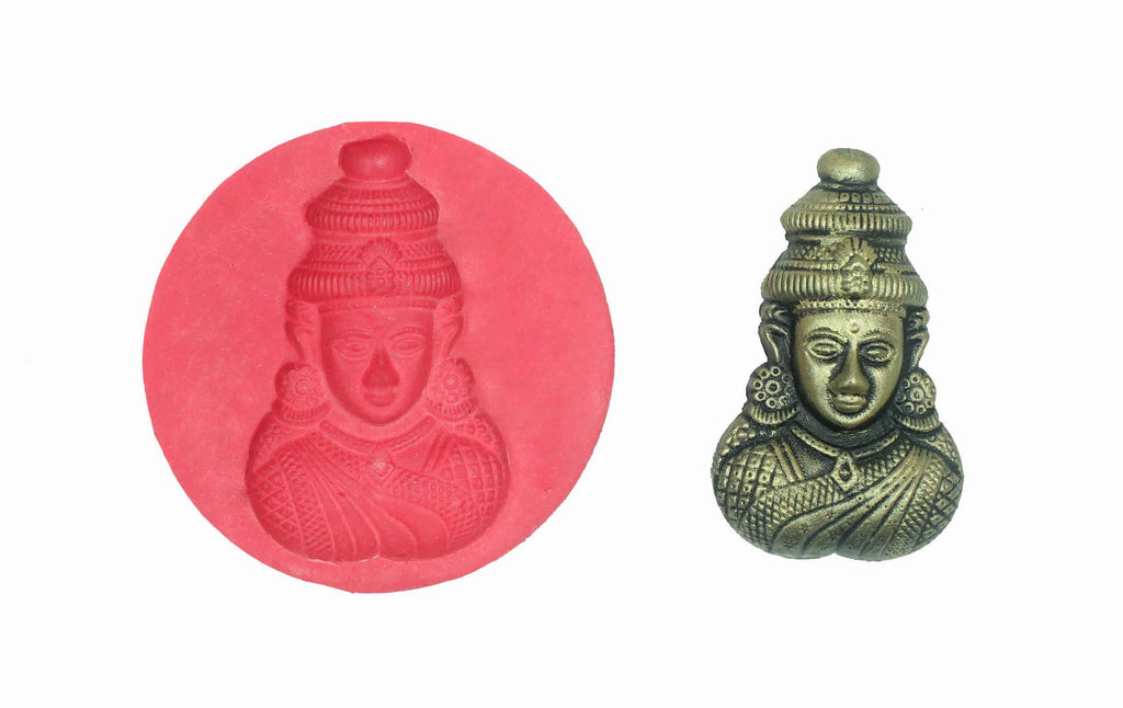 Aadhini Amman Temple Mould - Claysphere