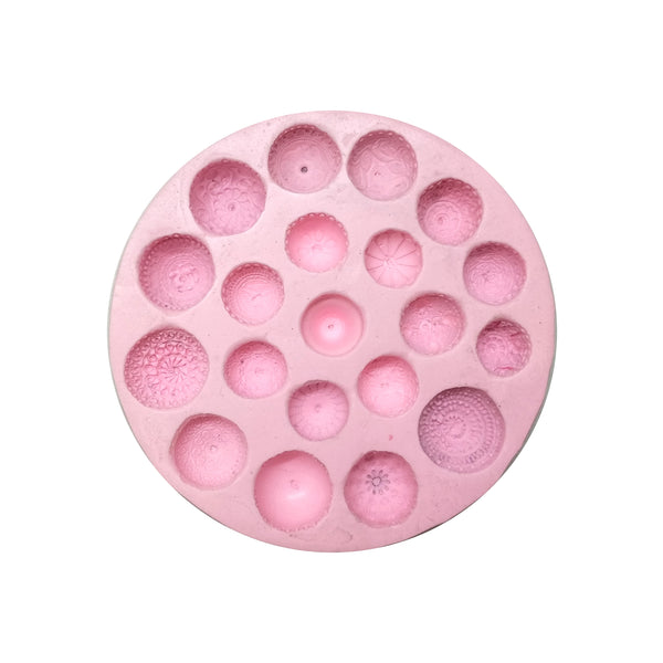 Big Size Classic Design Jhumka Mould Pad - Claysphere