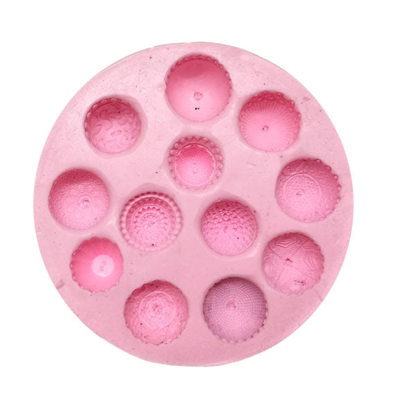 Medium Size Patterned Jhumka Mould Pad - Claysphere
