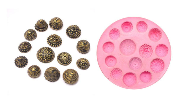 Small Size Jhumka Mould Pad - Claysphere