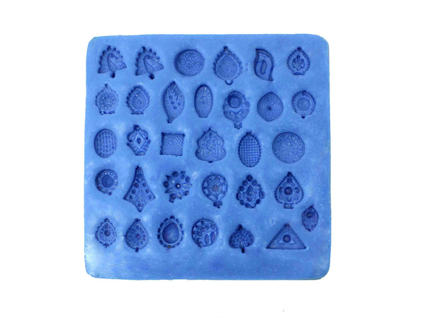 Dazzling Small Studs Mould Pad - Claysphere
