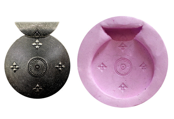Avadata Pendant Mould - Claysphere