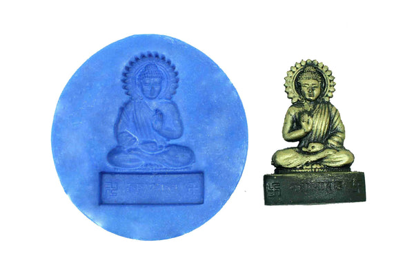Gautama Buddha Temple Mould - Claysphere