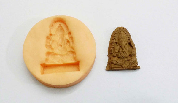 Spiritual Ganesha Temple Mould - Claysphere