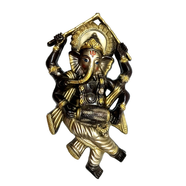 Dancing Ganesha Big Size Idol Mould - Claysphere