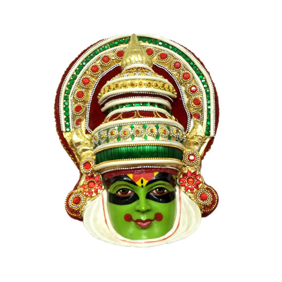 Kathakali Big Size Temple Mould - Claysphere