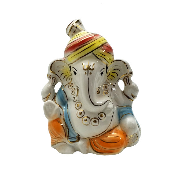 Shambavi Ganesha Temple Mould - Claysphere
