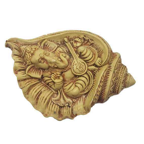 Vinayaka On Shank Big Size Idol Mould - Claysphere