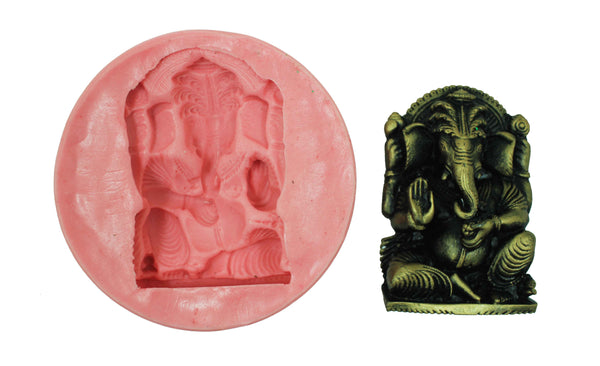 Gajakarna Ganesha Temple Mould - Claysphere