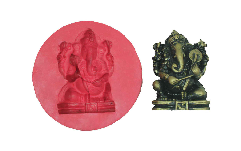 Krti Ganesha Temple Mould - Claysphere