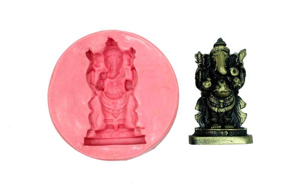 Alampata Ganesha Temple Mould - Claysphere