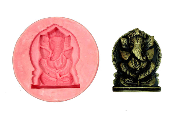 Bhuvanpati Ganesha Temple Mould - Claysphere