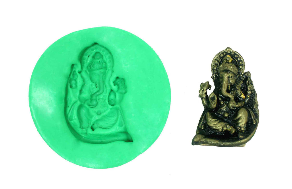 Manomay Ganesha Temple Mould - Claysphere