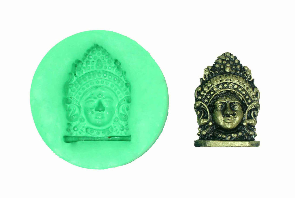 Kali Amman Temple Mould - Claysphere