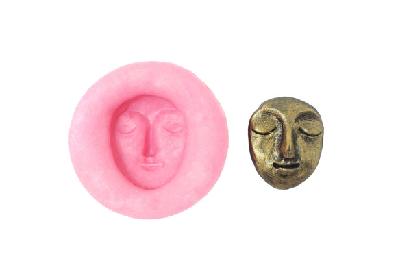 Kawaii Multipurpose Crafting Face Mould - Claysphere